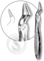 Щипцы для удаления корней зубов верхней челюсти с широкими губками, № 52