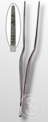 Пинцет ушной штыковидный Паи 140х1,5 (П)