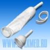 Урологический мужской наружный катетер с фиксатором, стерильный (10 шт)