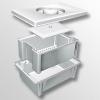 Емкость-контейнер полимерный для дезинфекции и предстерилизационной обработки медизделий 1-10 л