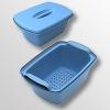 Емкость-контейнер для дезинфекции и стерилизации с перфорированным поддоном 1-10 л